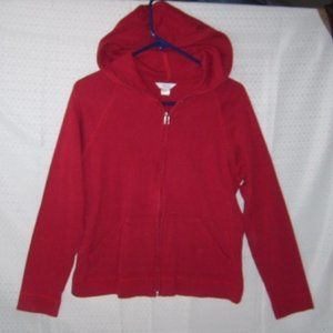 Hoodie M (Small?) Christopher & Banks Red